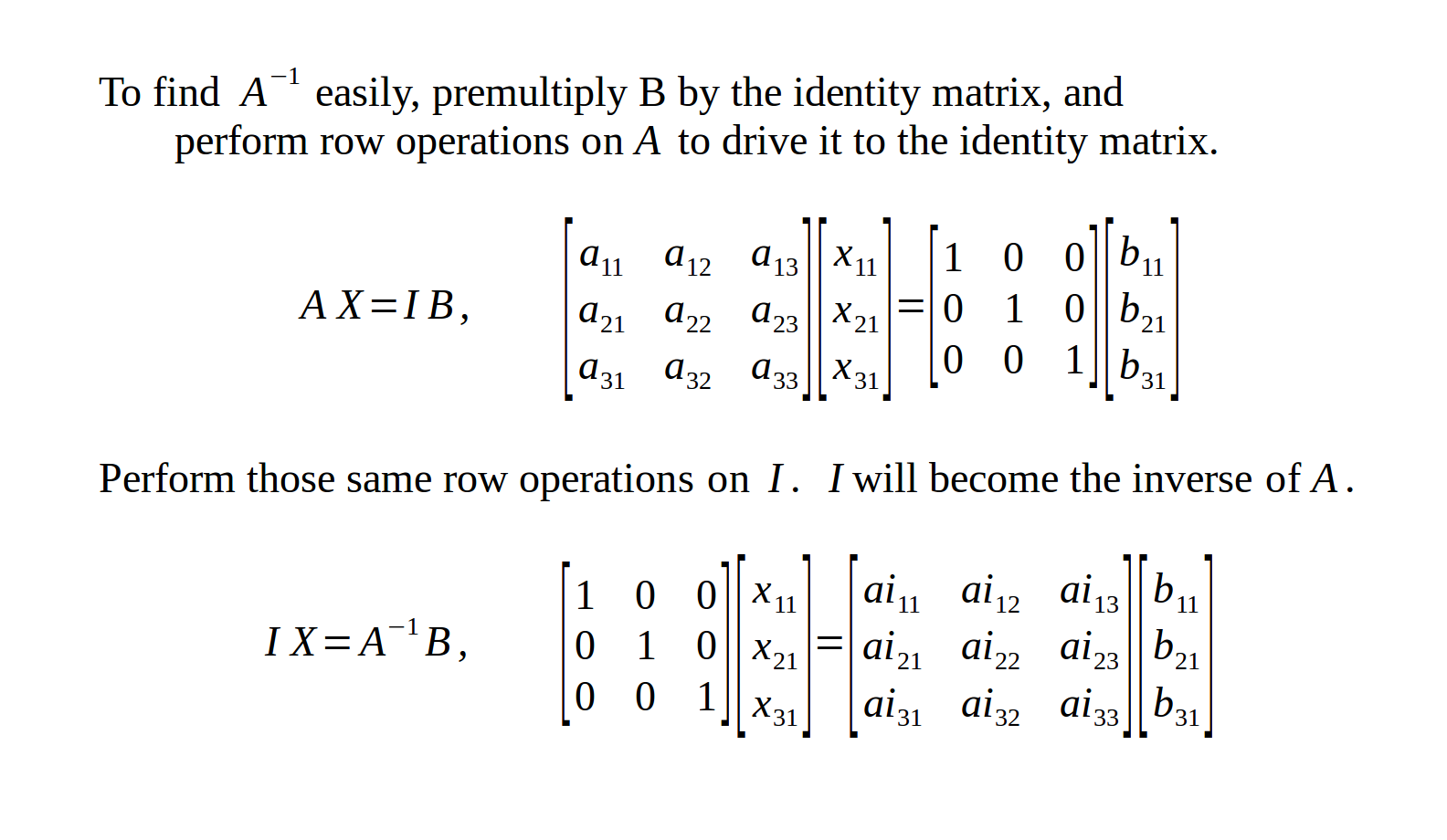 Simple Matrix Inversion in Pure Python without Numpy or